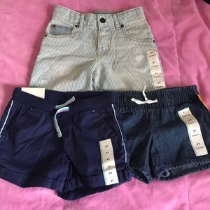 4t shorts for girls 3 for 12..